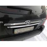 Hyundai Tucson 2004- Накладка над номером (пластик) - Carmos