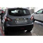 Nissan Qashqai 2007-2013 Планка над номером с кнопкой - Carmos