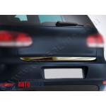 VW Golf 5 2003-2008 Накладка кромки багажника - Carmos