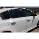 Chevrolet Cruze Sedan 2009- Молдинг стекол нижние 4шт - Carmos