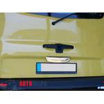 Opel Vivaro/Renault Trafic/Nissan Primastar 2001-2014 Планка над номером нижняя - Carmos