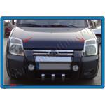 Ford Connect 2002-2013 Накладки на передние фары 2шт - Carmos