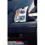 Ford Transit 2007-2014 Накладки на фары 2шт - Carmos