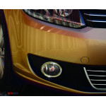 Fiat Doblo 2005-/2010- Накладки на противотуманки 2шт - Carmos