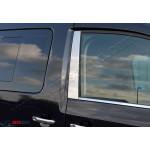 VW Caddy 2004- Накладки дверных стоек 2шт - Carmos