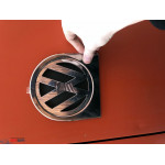 VW Caddy 2004- Окантовка заднего логотипа 1шт - Carmos
