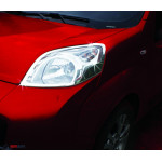 Citroen Nemo/Fiat Fiorino/Peugeot Bipper 2008- Накладки на фары 2шт - Carmos