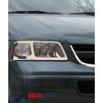 VW T5 2003-2010 Накладка на фары 2шт - Carmos