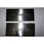 Citroen Jumper 2006- Накладки на внутренние пороги 2шт - Carmos