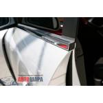 Chevrolet Lacetti хетчбек 2004-2012 Молдинг стекол нижние 4шт - Carmos