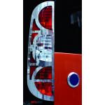 Fiat Doblo 2005- Накладки на стопы 2шт - Carmos