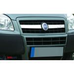 Fiat Doblo 2005- Накладки на решетку радиатора 2шт - Carmos