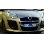 Fiat Doblo 2010-2015 Накладка большая на решетку радиатора - Carmos