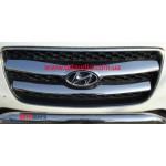 Hyundai Santa Fe 2006-2010 Накладка на решетку 2шт - Carmos