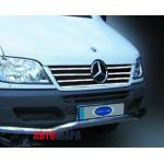 Mercedes Sprinter W901 2000-2002 Накладки на решетку радиатора 7шт - Carmos