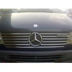 Mercedes Sprinter W901 1995-2000 накладки на решетку радиатора 12шт - Carmos