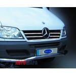 Mercedes Sprinter 2003-2006 Накладки на решетку радиатора 5шт - Carmos