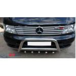 Mercedes Vito W638 1996-2003 Накладка на решетка радиатора 10шт - Carmos
