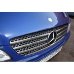 Mercedes Vito/Viano W639 2003-2010 Накладки на решетку радиатора 7шт - Carmos