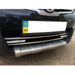 Nissan Qashqai 2010-2014 Передняя нижняя решетка - Carmos