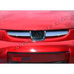 Peugeot Partner 2002-2008 Накладка на решетку радиатора 2шт - Carmos