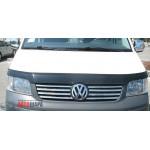 VW T5 2003-2010 Накладки на решетку радиатора 8шт - Carmos
