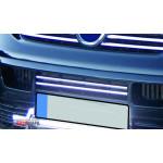 VW T5 Transporter 2003-2010 Накладки на решетку бампера 2шт - Carmos