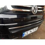 VW T5+ 2010-2015 Накладка в передний бампер 1шт - Carmos
