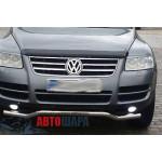VW Touareg 2003-2007 Накладки на решетку радиатора 4шт - Carmos