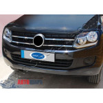VW Amarok 2010- Накладки на решетку 4шт - Carmos