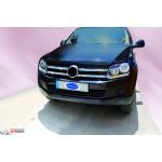 VW Amarok 2010- Накладки на решетку радиатора 4шт - Carmos