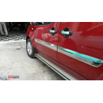 Fiat Doblo 2005-/2010- Молдинги дверей широкий 4шт - Carmos