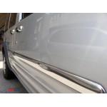 Ford Connect 2002-2013 Накладки на молдинги дверей кор база 4шт - Carmos