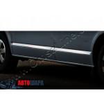 VW T5/T6 2003-/2015- Молдинги дверные коротк база 7шт - Carmos