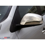 Renault Fluence 2009- Накладки на зеркала 2шт - Carmos