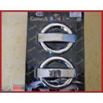 Fiat Doblo 2001-/2005- Накладки на ручки 4шт - Carmos