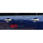 Mitsubishi Outlander 2012- Накладки на ручки без чипа 8шт - Carmos