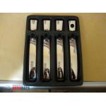 Nissan Qashqai/Pathfinder/Navara 2006-2014 Накладки на ручки без чипа 8шт - Carmos