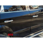 Hyundai Tucson 2004-2012 Накладки на ручки 4шт - Carmos