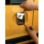 Renault Kangoo 2003-2008 Накладки на ручки 1 сдвижн+ 2 передн - Carmos