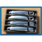 Opel Vivaro 14-/Movano 10-/Renault Trafic 14-/Master 11-/Nissan MV400 15- Накладки на ручки (пластик - Carmos