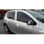 Dacia/Renaul Logan 2013- Накладки на ручки 4шт - Carmos