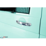 VW Caddy 2004-/T5/T6 2003- Накладки на ручки 3шт - Carmos