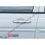 Honda Civic 2006-2011 Накладки на ручки 4шт - Carmos