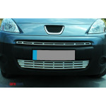 Citroen Berlingo/Peugeot Partner 2008- Накладки на решетку радиатора 2шт - Carmos