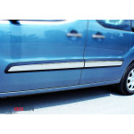 Citroen Berlingo/Peugeot Partner 2008- Молдинги дверные 4шт - Carmos