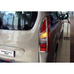 Citroen Berlingo 2008-2012 Накладки на стопы 2шт - Carmos