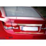 Chevrolet Cruze Sedan 2009- Накладка на кромку багажника - Carmos