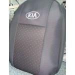 Чехлы на сиденья KIA Rio (седан) до 2010г. - Ав-Текс