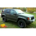 Ветровики для Jeep Grand Cherokee I (SJ) 1991-1999 накл.деф.окон Cobra-Tuning